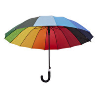 Picture of  Biggbrella 04125-U45 Long Rainbow Umbrella