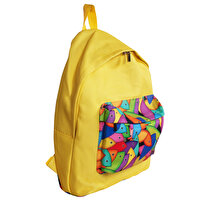 Picture of Biggdesign Fertility Fish Yellow Backpack