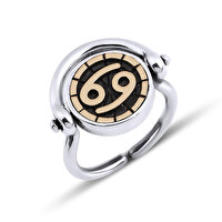Picture of BiggDesign Horoscope Ring, Cancer