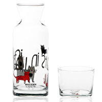"Picture of BiggDesign ""Cats in Istanbul"" Glass Pitchers"