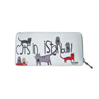 Picture of BiggDesign Cats In Istanbul Wallet Gray