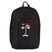 Picture of BiggDesign Faces Black Backpack
