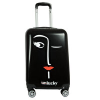 Picture of BiggDesign Faces Lucky Cabin Boy Suitcase 20 inch