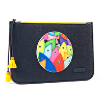Picture of Biggdesign Fertility Fishes Felt Clutch