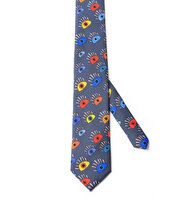 "Picture of BiggDesign ""My Eyes On You"" Patterned Tie"