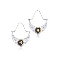 Picture of BiggDesign Horoscope Earrings, Pisces