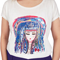 Picture of BiggDesign Blue Water Women T-Shirt