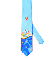 "Picture of BiggDesign ""Mr. Allright Men"" Patterned Tie"