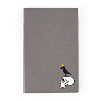 Picture of BiggDesign Mr Allright Man Skull nottebook 13x21