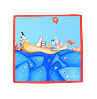 "Picture of BiggDesign ""Mr. Allright Men"" Patterned Fabric Handkerchief"