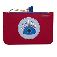 Picture of BiggDesign My Eyes are on You Zippered Felt Bag