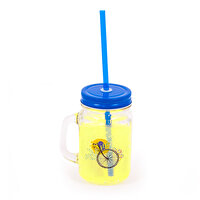 Picture of   Biggdesign Nature Blue Lemonade Jar Mug With Handle by Aysu Bekar