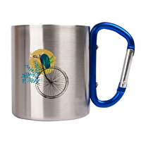 Picture of Biggdesign Nature Earth Karabiner Stainless-Steel Mug
