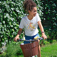 Picture of BiggDesign Nature Garden On The Pedal Women Tshirt
