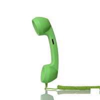 Picture of BiggPhone Retro Phone Handset Green
