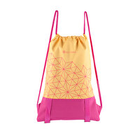 Picture of BiggYoga Aura Drawstring Backpack - Pink & Yellow