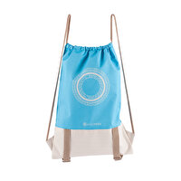 Picture of BiggYoga Chakra Drawstring Backpack - Blue