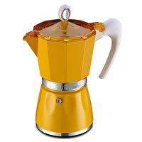 Picture of GAT Bella Espresso Coffee Maker 3 Cups Yellow