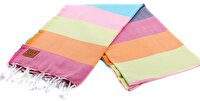 Picture of Gold Case Basic Group 100% Cotton Multi-Purpose Peshtemal Towel - Loincloth - Hades Assortment Colors