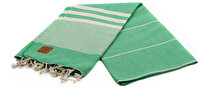 Picture of Gold Case Basic Group 100% Cotton Multi-Purpose Peshtemal Towel - Loincloth - Hera Green