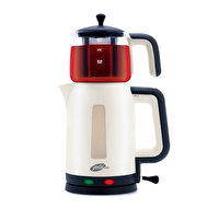Picture of Goldmaster GM-7321 Papatya Electric Teapot / Tea Maker - Beige