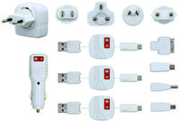Picture of Swıss Charger Sch 10002 Universal Travel & Car Charger Set