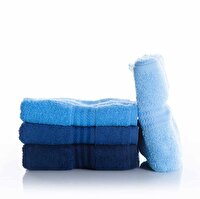 Picture of Hobby Rainbow Hand Towel Set - Blue