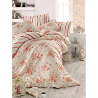 Picture of Mary Case Ranforce 100% Cotton Twin Size Duvet Set - Jayla Pomegranate Blossom
