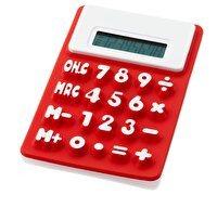 Picture of PF CONCEPT 12345401 Red Silicone Calculator