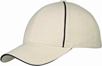 Picture of Slazenger 11100805 6 Overlayed Cap