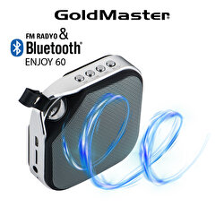 product image Goldmaster Enjoy-60 Siyah Bluetooth Hoparlör