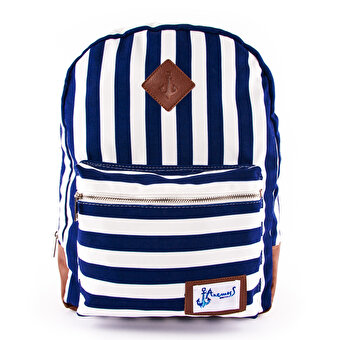 Biggdesign AnemosS Navy Striped Backpack