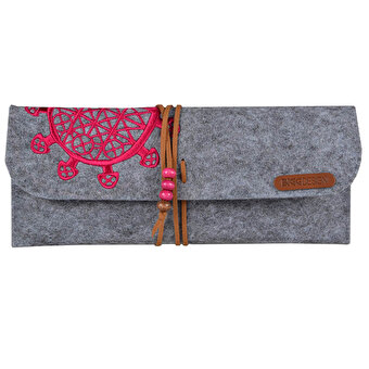BiggDesign Sun Disk B.C.3000 Felt Pencil Case