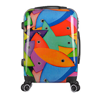BiggDesign Fertility Fish Mid Size Suitcase 24""