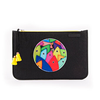 Biggdesign Fertility Fish Felt Bag