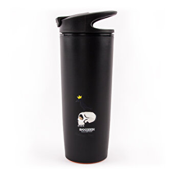 Biggdesign Mr. Allright Man Black Vacuum Mug
