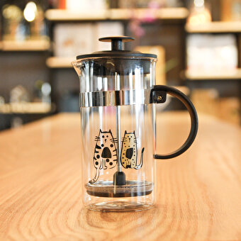 Biggdesign Cats in İstanbul French Press 350 Ml by Zeynep Pak