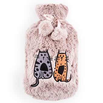 Biggdesign Cats in Istanbul Shag Cover Hot Water Bottle