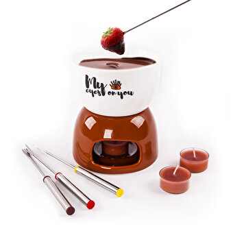 Biggdesign My Eyes On You Fondue Set