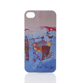 Biggdesign iPhone 5 Beyaz Kapak Sandal