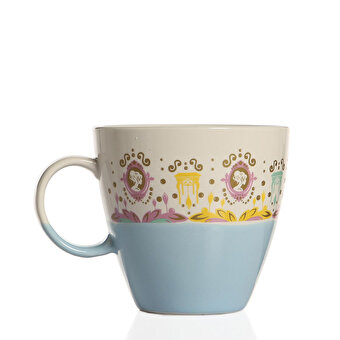 BiggDesign Lush Blue-White Mug