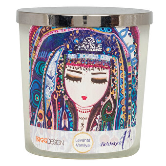 BiggDesignMavi Su Medium Size Candle