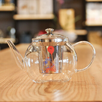 Biggdesign Mr. Allright Man Strainer Teapot 600ML