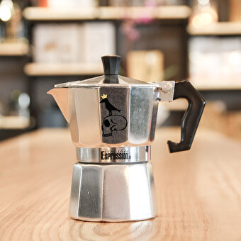 Biggdesign Mr. Allright Man Moka Machine 3 people