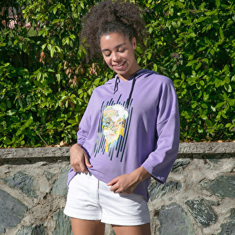 Biggdesign Nature Earth Women Sweatshirt By Aysu Bekar