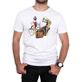 Biggdesign Nature Gezgin Erkek T-shirt by Aysu Bekar