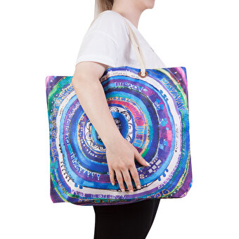 BiggDesign Evil Eye Beach Bag