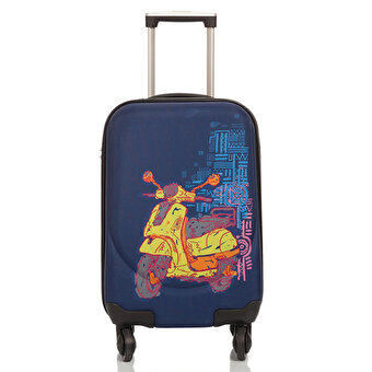BiggDesign Artist Design Canvas Luggage Motorcycle