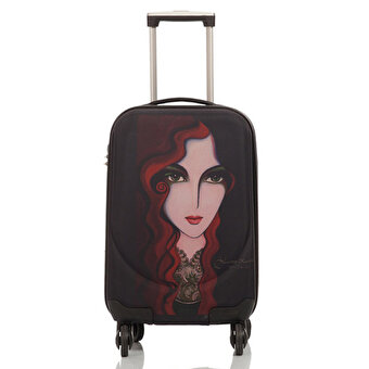 BiggDesign Artist Portrait Design Canvas Luggage