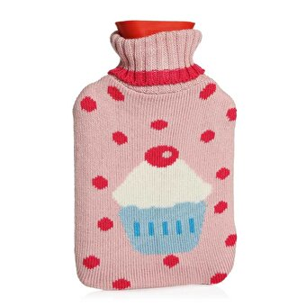 BIGGHOME Cupcakel Hot Water Bottle